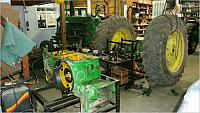 Rebuilding transmission on 4010 John Deere
